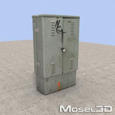 utility box 3d max