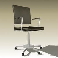 bataille chair 3d max