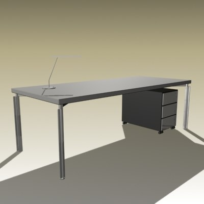 bataille table 3d max