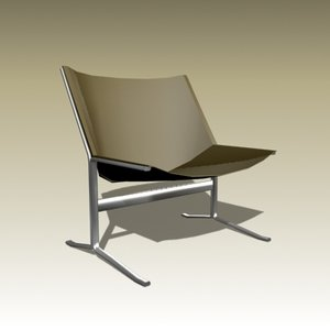 clement meadmore sling chair 3d max