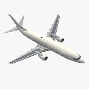 3d b 737-400 model