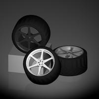 c4d racing wheel