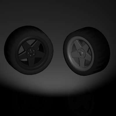 slipstream racing wheel 3d model