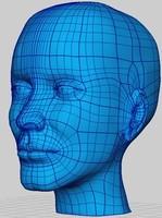 head iges 3d model