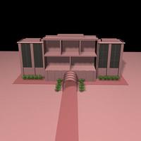 building hospital 3d model