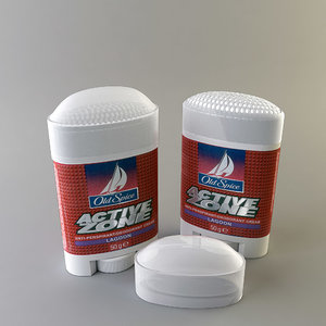 3d model of old spice antiperspirant cream