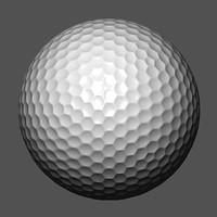 3ds max golf ball