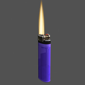 3ds max lighter flame