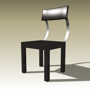 3d model guiseppe chair