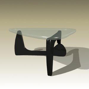 3d model isamu noguchi table