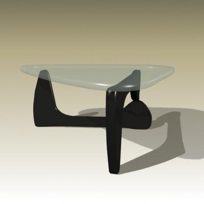 3d model isamu noguchi table