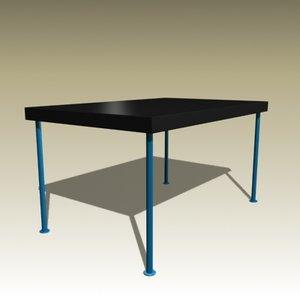 3d jp table