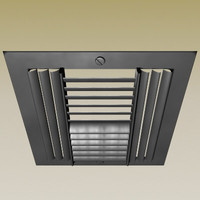 air vent dxf