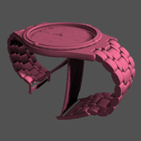 3d fossil watch model