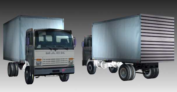 3d max delivery truck