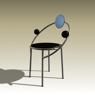 3d michelle chair