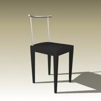 3d philippe starck chair