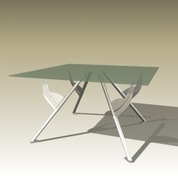 3d philippe starck table