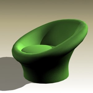 max pierre paulin lounge chair