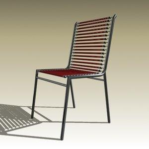 3d rené chair model