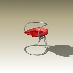 vladimir tatlin chair 1927 3d model