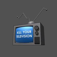 tv monitor tele 3d max