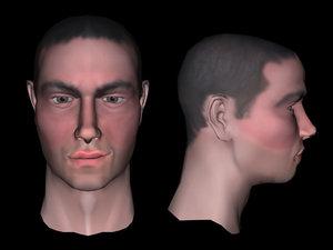 3d realistic human model