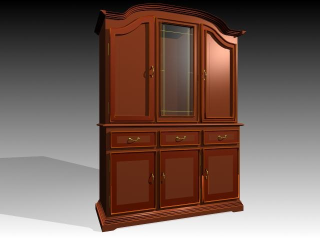 3ds max furniture cabinet