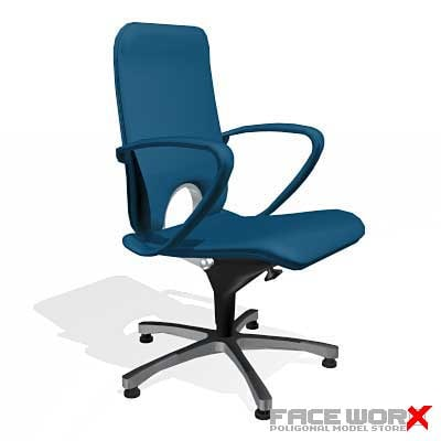 3dsmax chair office