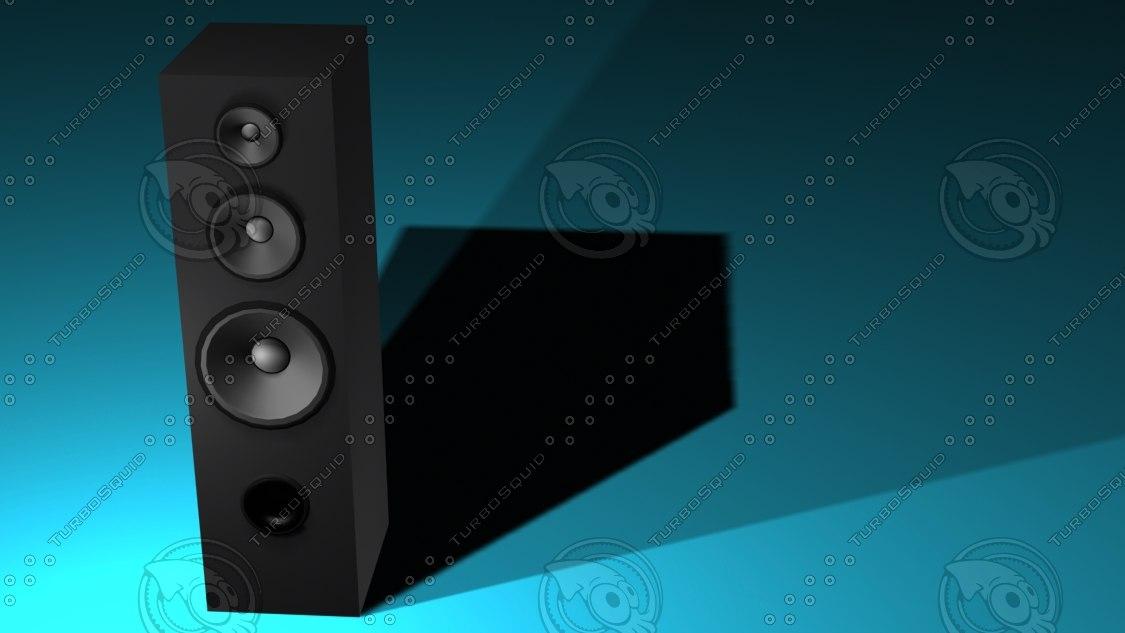 speaker studio 3 3d max