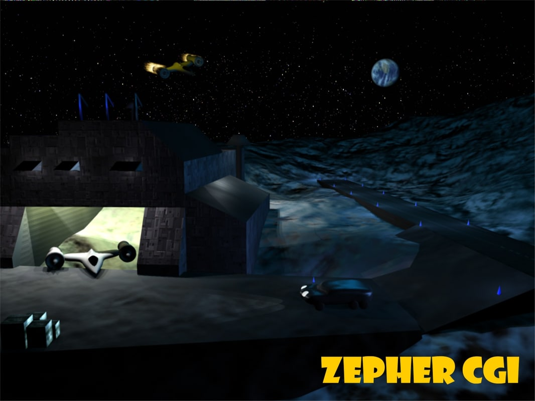 3ds max moon base