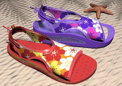 maya sandal beach
