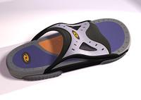 3d model style sandal studiotools