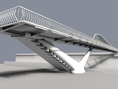 bridge 3d model