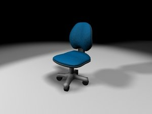 3ds computer chair