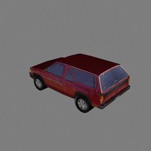 pathfinder car 3ds