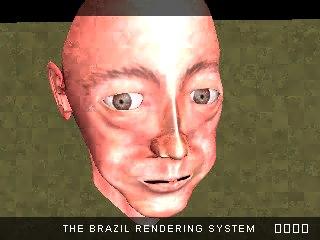 3d max head realistic