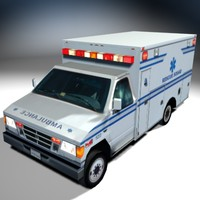 vs01 ambulance 3d model