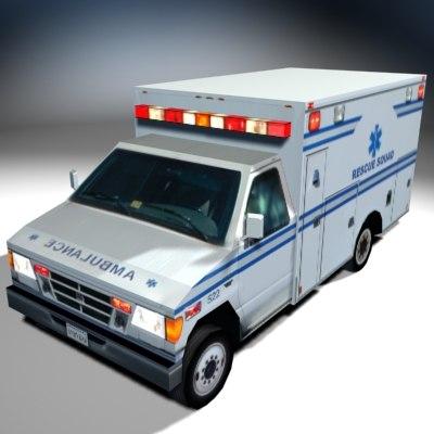 vs01 ambulance 3d model