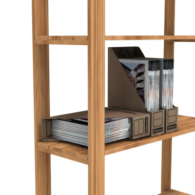 ikea shelves 3d model