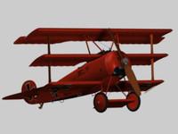 FokkerDr1-Obj.zip