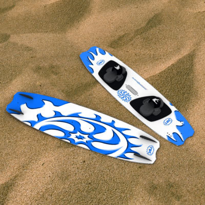 surfboard package 3ds