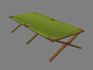 cot poser 3d model