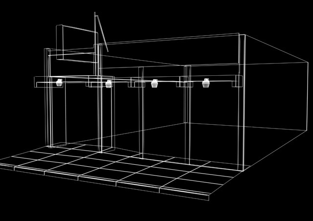 old building store 3d model