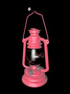 oil lamp lantern c4d free