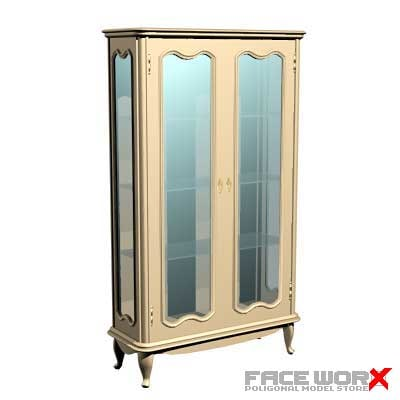 3d cabinet display model