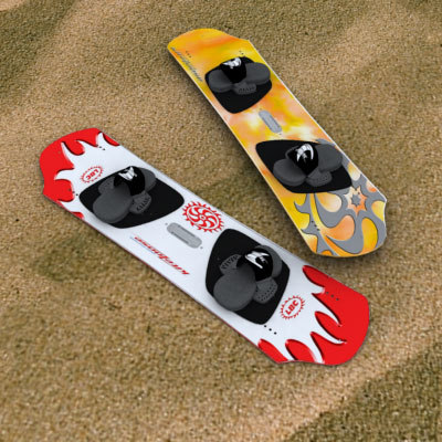 3d model kiteloose wakeboard surfboard