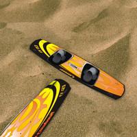 kiteloose wakeboard - 3d max
