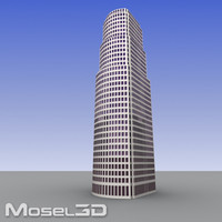 realtime skyscrapers buildings 3ds