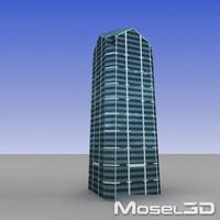buildings skyscrapers 3d model